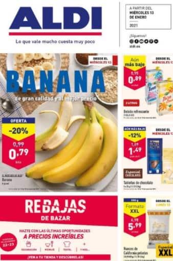 Vista previa de Aldi - Catálogo actual - productos, nuevo folleto de la tienda