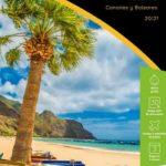 folleto el corte ingles viajes 2021 islas canarias y baleares