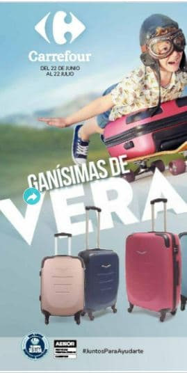 carrefour maletas ofertas JULIO 2021
