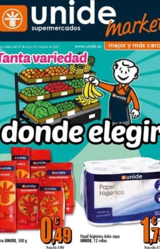 Catalogo Supermercado Unide junio 2021